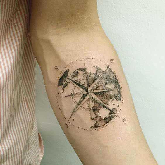 Earth Tattoos 1