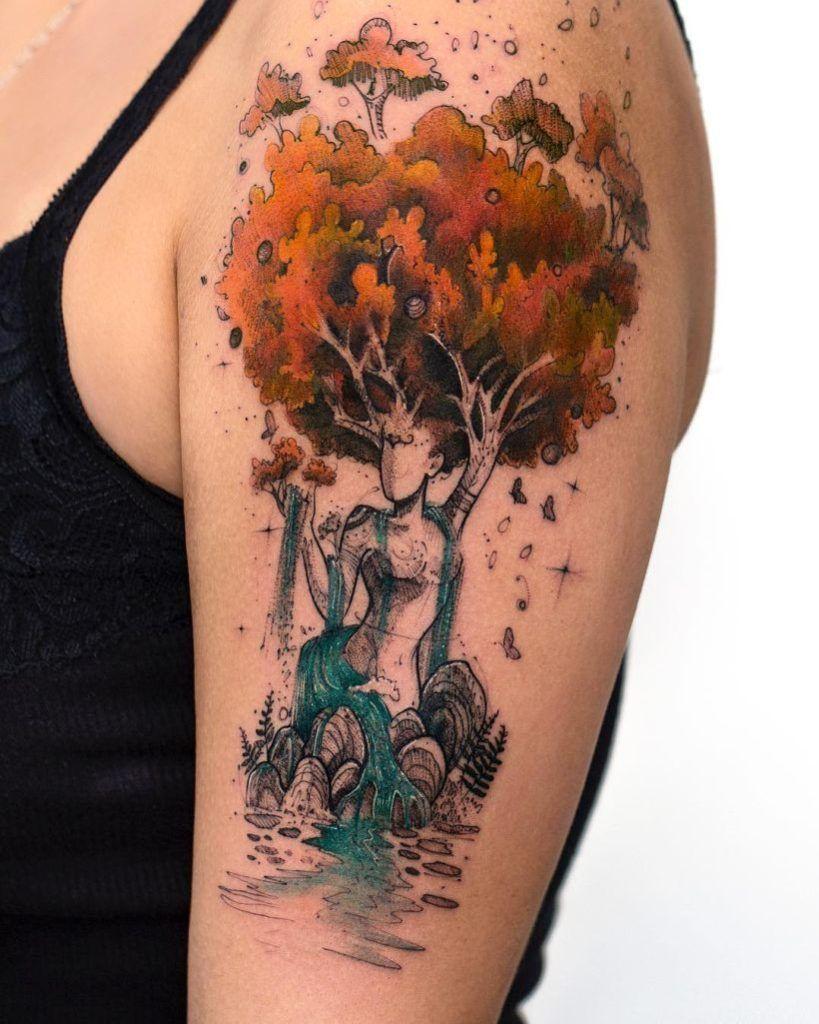 Green Earth Tattoos 13