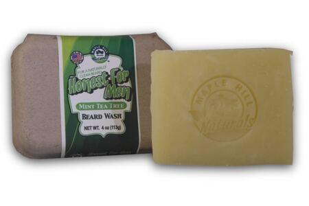 Honest For Men Mint Tea Tree Oil Beard Wash 100% All Natural Ingredients