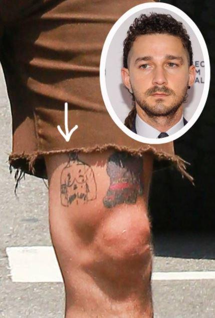 Tupac Tattoo On Shia