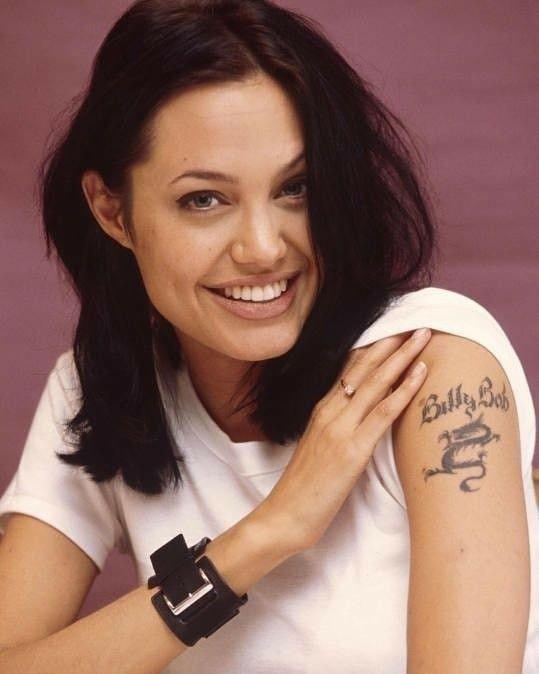 Billy Bob Angelina Jolie Tattoo