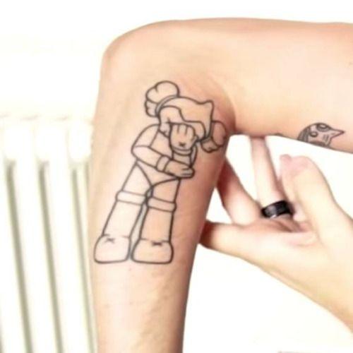 Pewdiepie Doll Tattoo Idea