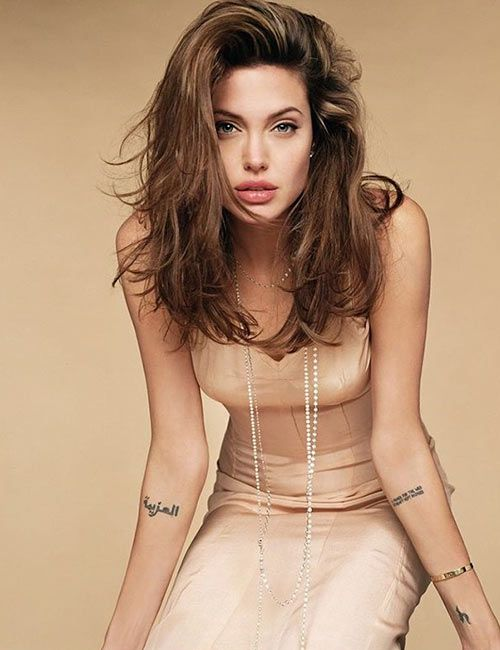 Prayer Angelina Jolie Tattoo